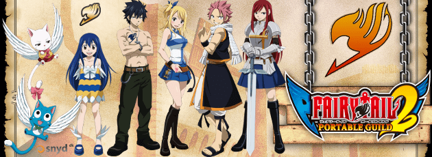 Fairy Tail: Portable Guild 2 - PSP