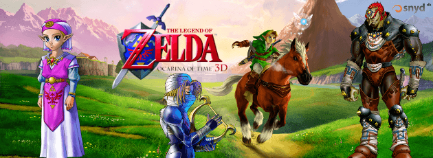 The Legend of Zelda: Ocarina of Time 3D - N3DS