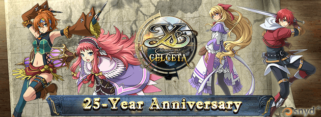 Ys: Memories of Celceta - PS Vita