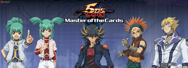 Yu-Gi-Oh! 5D's Master of the Cards - Wii
