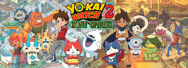 Yo-kai Watch 2: Bony Spirits (EU) - N3DS